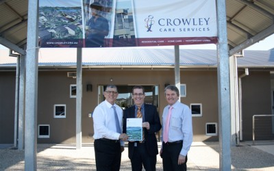 Minister Visits Crowley